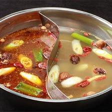米沢豚肉やフカヒレを具材に!秘伝のスープで体も喜ぶ♪[モンゴルの太陽コース]〈全11品〉