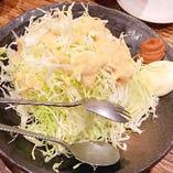 山盛りキャベツサラダ