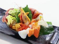 溢れる海幸 贅沢こぼれ海鮮丼