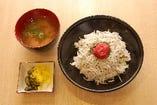 紀州しらす丼