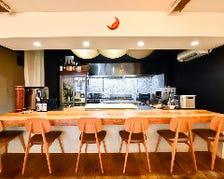 ライブ感あるオープンキッチン