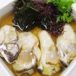 生牡蠣土佐酢がけ