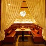【2~6名様】U字型のソファが魅力の半個室