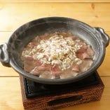 ねぎ塩牛タン陶板焼き