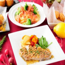 【90分飲み放題付】 オマール海老と若鶏のソテーを楽しむ7品3200円『☆サファイアコース』