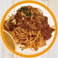 ボローニャ風ミートソース+生麺(スパゲッティ)