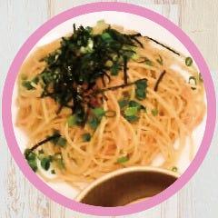 明太子バターソース+生麺(スパゲッティ)
