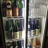 日本酒を50種類以上ご用意