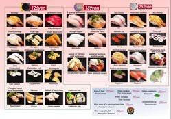 英語メニューございます。 There is an English menu.