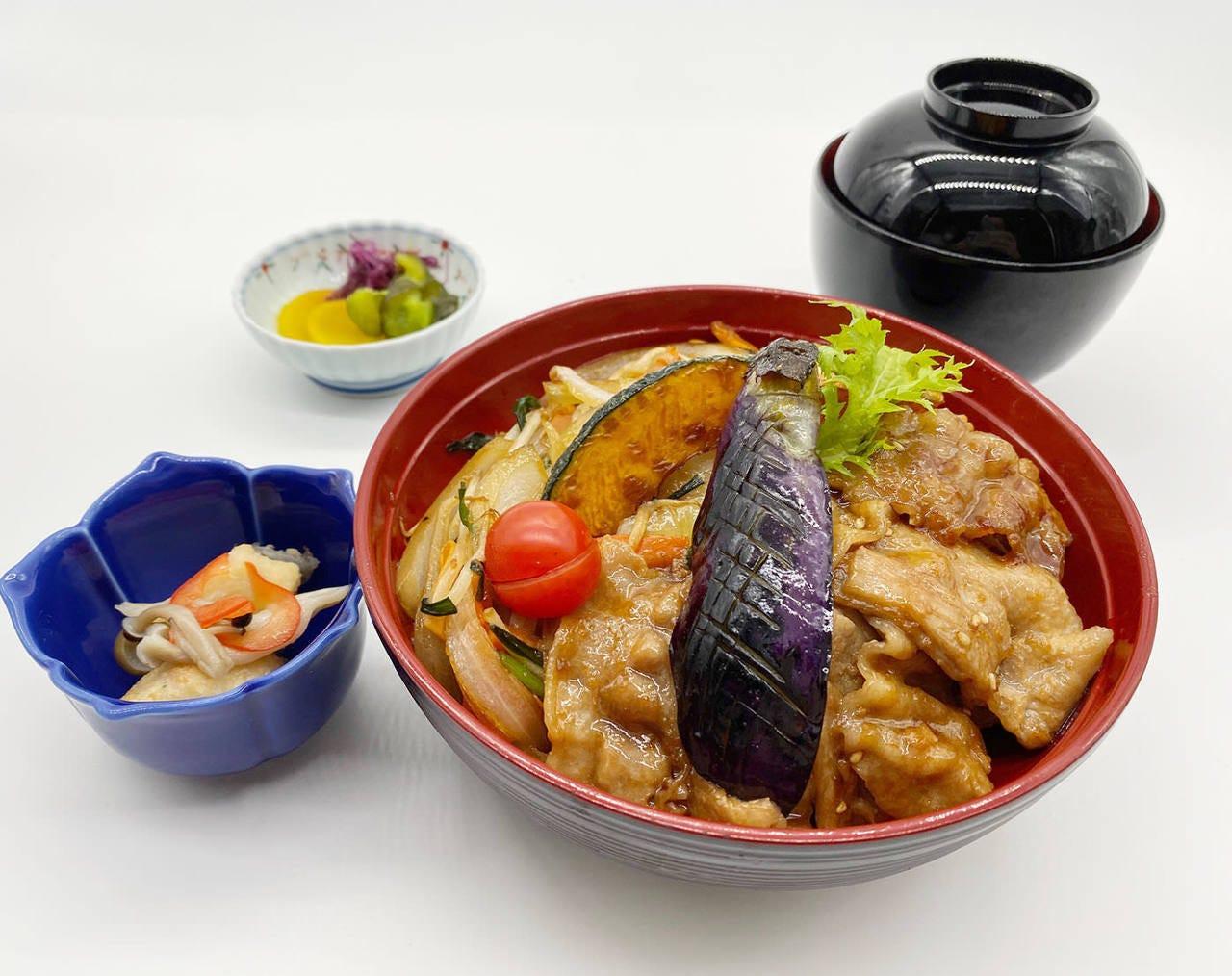 ランチ限定「チバザポークの生姜焼丼」が1,000円(税込)!