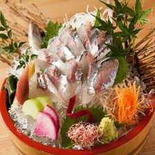 唐津産の活魚