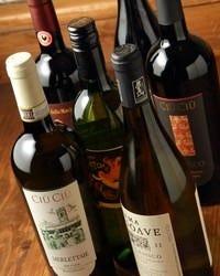 豊富なワイン各種
