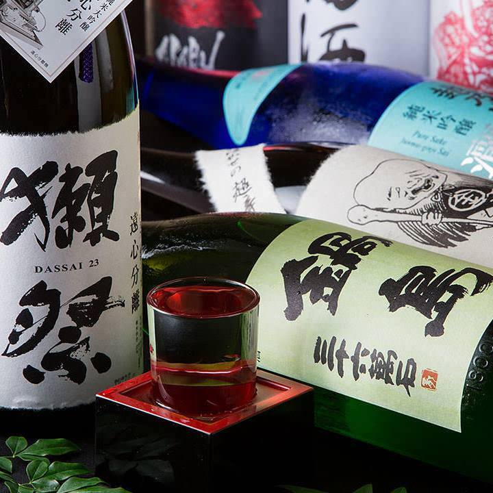 九州のみならず全国の地酒が大集結!山形・新潟など旅行気分で◎