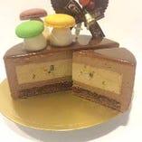 ケーキ手配の代行サービスも承っております