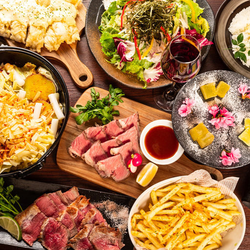 人気No1♪■OPEN記念■チーズ&お肉を堪能!自家製ローストビーフ/チーズ鍋付 4480→3480円飲み放題付!8品