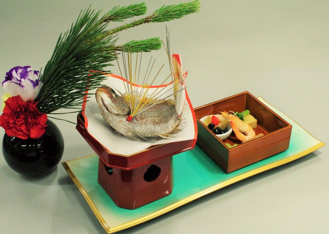 【宴会】お祝い会席 ☆祝い焼き鯛とお赤飯付き☆