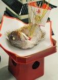 お祝い焼き鯛
