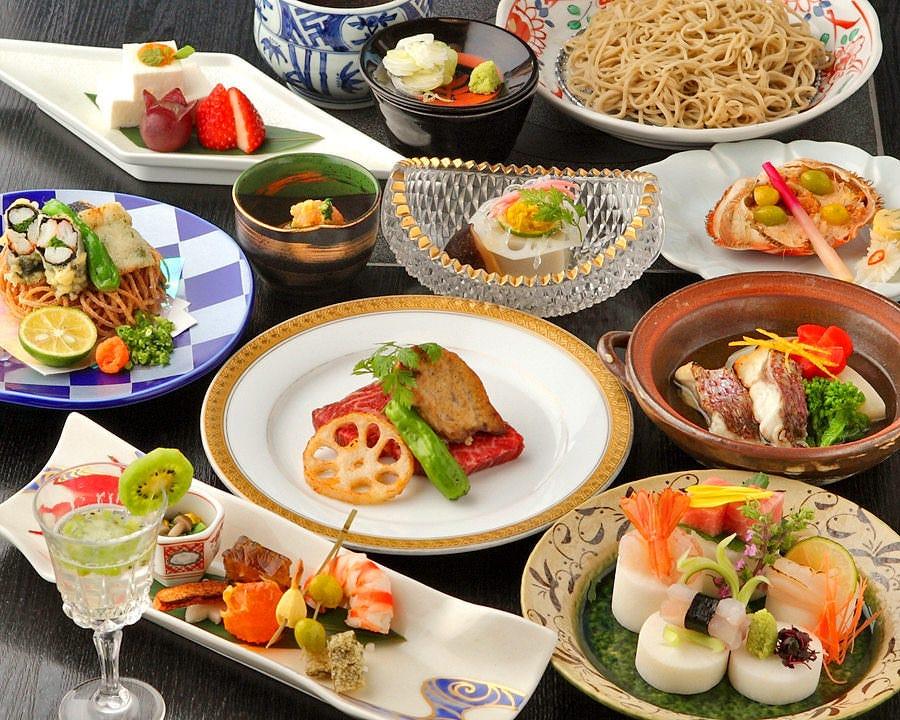 ◆彩り豊かな懐石コース◆ 法事や会食に。5000円税抜からご用意