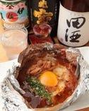 鶏肉の南蛮焼きとご一緒に日本酒をご堪能いただけます。
