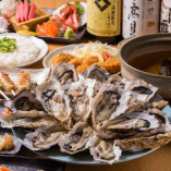 【2時間飲み放題付】宮城県産牡蠣しゃぶしゃぶコース<全7品> 5,000円|飲み会・宴会