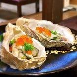 先付けの酢牡蠣