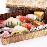 [仕出し懐石こんごう]寿司1人前
