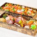 【秋号限定】[55キッチン]おもてなし2段弁当
