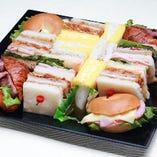 【新メニュー】[マルメ]サンドイッチオードブル