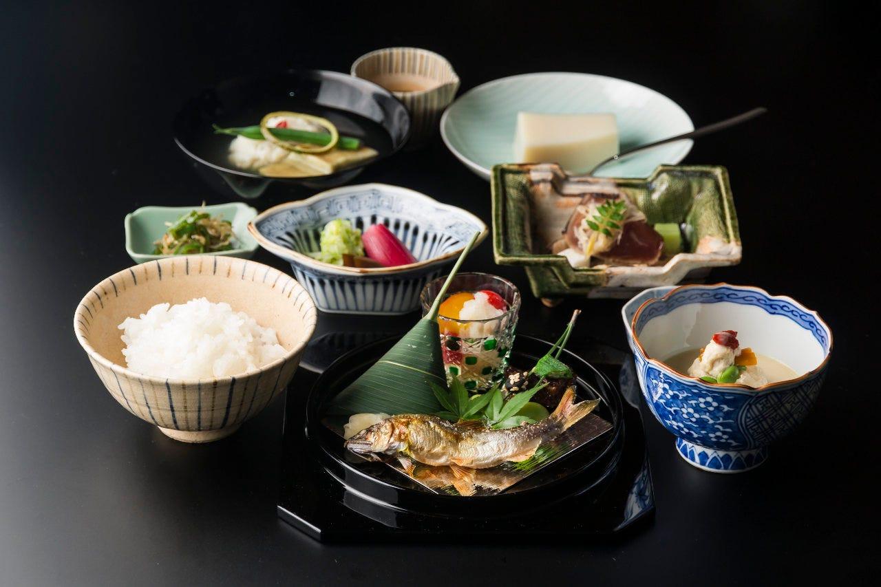 【和食】お昼の和会席 全9品