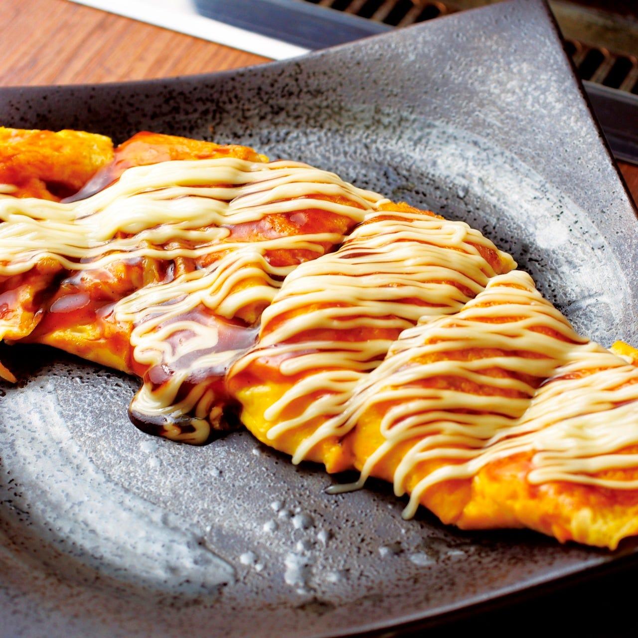 ◆出来立てアツアツの鉄板焼き料理