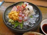 季節を感じる日本料理が豊富です。お酒との相性も抜群。