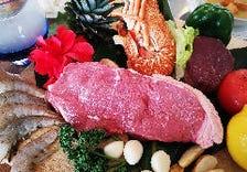 ★上質なステーキや新鮮シーフード★