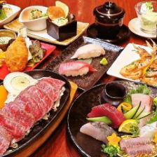 【当日OK!】鮪のステーキと日向灘海鮮コース  料理のみ『全席禁煙』