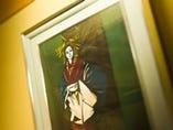 入手エピソードが趣深い 「太夫」の絵画