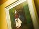 入手に趣きあるエピソードを秘めた「太夫」の絵画