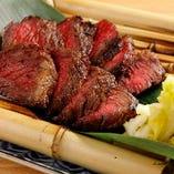 大人気!近江牛の炭火焼き!肉汁が溢れて止まらない絶品料理!