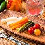 旬野菜のピクルス瓶