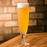 そこらじゃ置いてない、サッポロ最高級ビールの白穂乃果、女性に人気です!