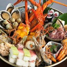 朝獲れ!!天然活〆土佐名物 皿鉢料理