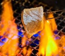 炭にもこだわる炉端料理に舌鼓