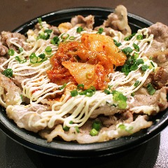 【 2月21日スタート!】キムマヨ牛カルビ丼 ※画像は肉ダブル&ごはん大