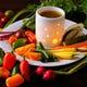 季節毎に変化する!旬野菜たっぷり特製バーニャカウダ