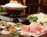 あぐー島豚しゃぶしゃぶ宴会コース&沖縄料理