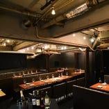 渋谷で52inch大型液晶テレビ完備の人気の大人空間♪貸切30〜80名迄(着席60名)