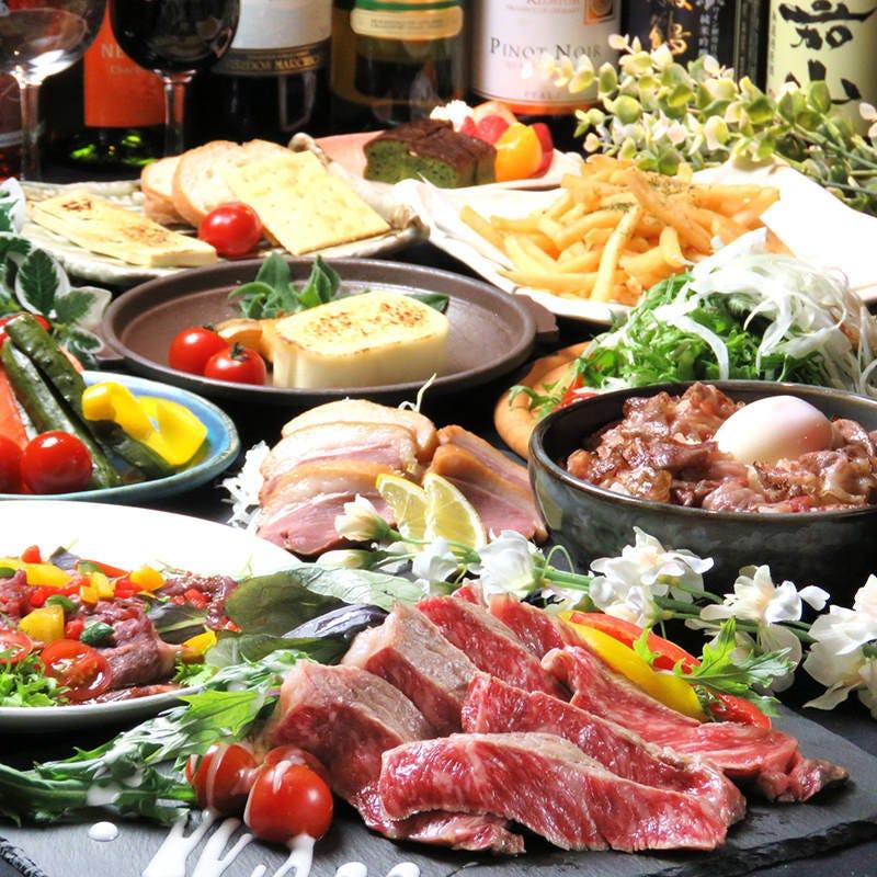 【20名~80名/暁-AKATSUKI-コース】待望の上級コースがNEWリリースです。鮮魚と牛肉との饗宴です。
