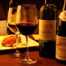 鉄板焼とワインの素敵なマリアージュ