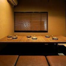 大切なご接待や会食に最適な空間で…