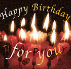 誕生日・記念日特典!プレート付ケーキをプレゼント!(要予約)
