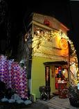 アジアのサーカス小屋をイメージし、一軒家をリノベージョン☆