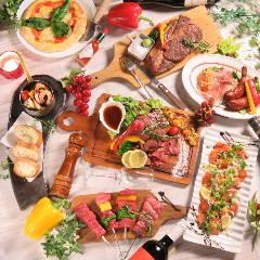 肉バルで黒毛和牛食べ放題 トリコミート 梅田